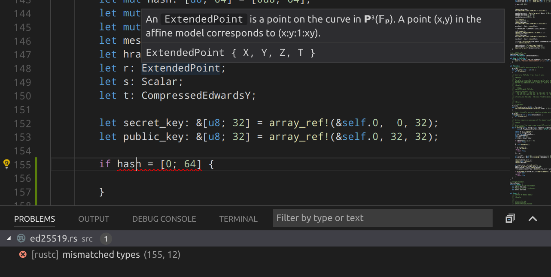Visual Studio Code with RLS